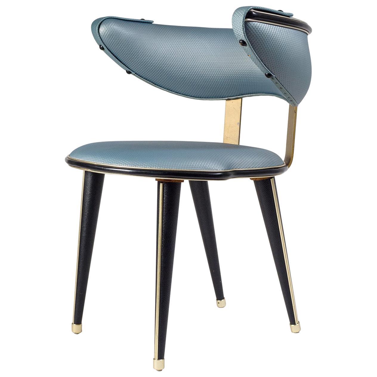 Umberto Mascagni Vanity Chair, circa 1960