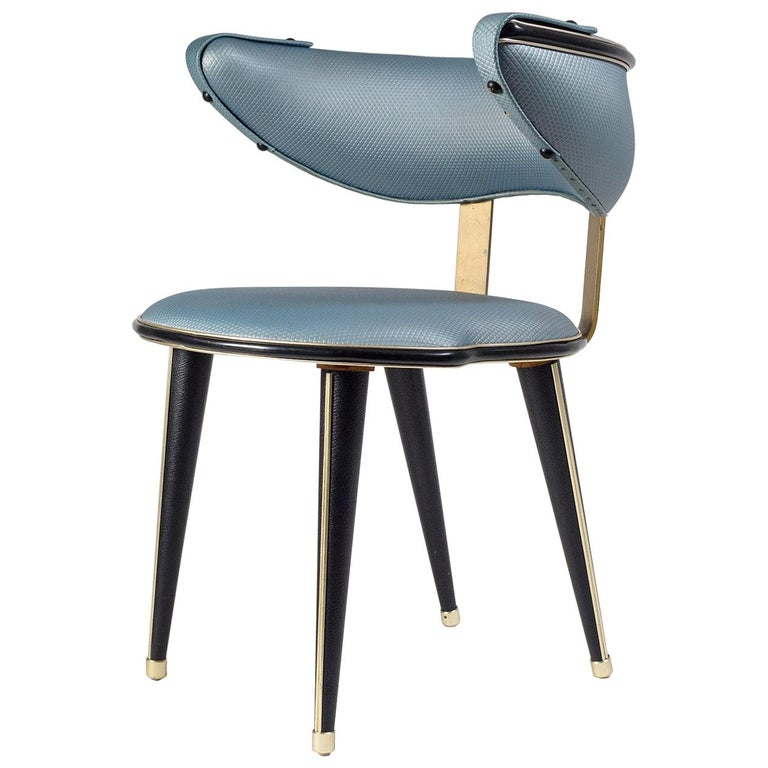 Umberto Mascagni Vanity Chair, circa 1960 For Sale
