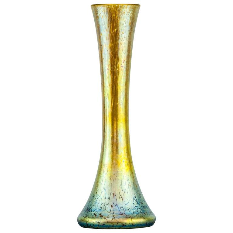 Jugendstil Loetz Vase, circa 1903 For Sale