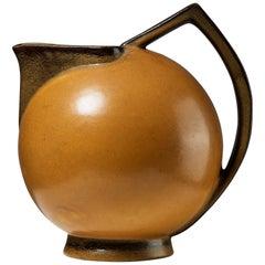 """Jug """"Terra"""" Designed by Ewald Dahlskog, Sweden, 1930s"""
