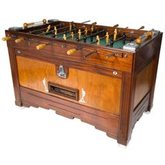 Babyfoot Foosball Table, 1930s, French