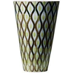 Vase Designed by Stig Lindberg for Gustavsberg, Sweden, 1950s