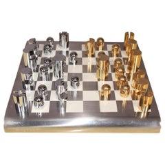 Inox and Metal Chess Board