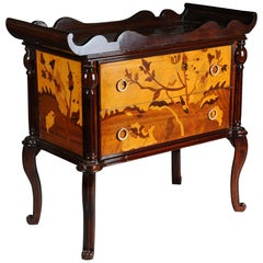 French Chest of Drawers with Shelf Tray Art Neveau