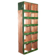 Tall Victorian Pigeon Hole Unit, Storage, Shelving Unit, 2 Bay