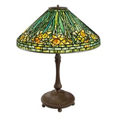 "Tiffany Studios ""Daffodil"" Table Lamp"