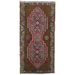 Vintage Anatolian Yastik Rug