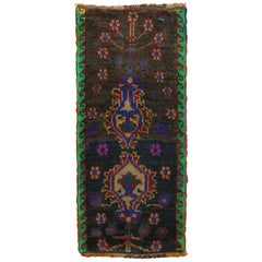 Bohemian Vintage Turkish Small Rug