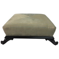 Large Low Ottoman by Baker Furniture
