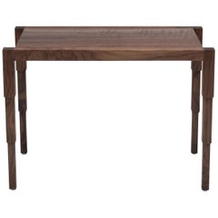 Chicago Side Table in Oiled Walnut by May Furniture