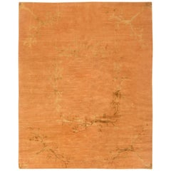 Orange Läufer und Teppiche