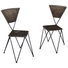 Pair of Karl Fostel Senior's Erben Chairs from Sonett-Serie, Austria, 1950s