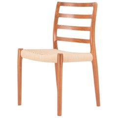 Teak Chair Model 85 by Niels Otto Møller, 1980s