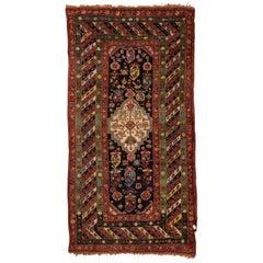 Antique Caucasian Gendge Rug, circa 1880