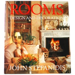 Rooms: Design and Decoration Signed First Edition by John Stefanidis