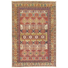 Antique Shirvan Kuba Rug