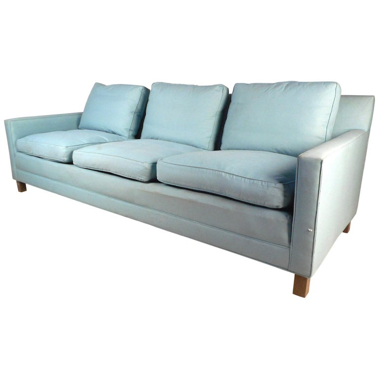 Mid Century Modern Sofa For Sale: Mid-Century Modern Sofa By Dunbar For Sale At 1stdibs