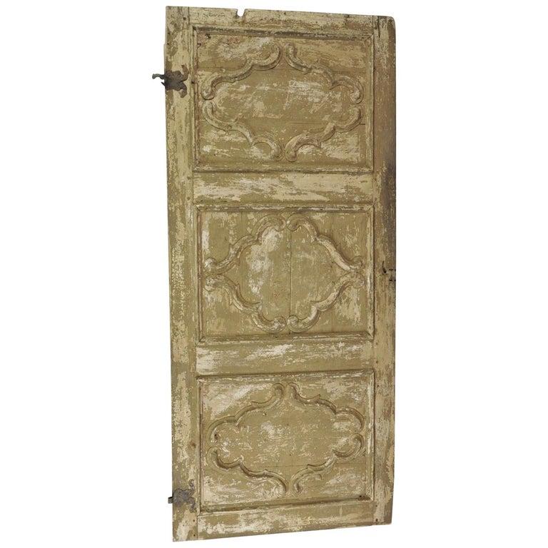 Italian 18th Century Door For Sale