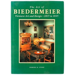 Art of Biedermeier Viennese Art and Design by Dominic R Stone, First Edition