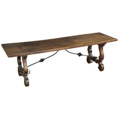 Catalan 19th Century Table Basse, Bench