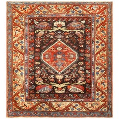 Antique Tribal Turkish Kula Rug
