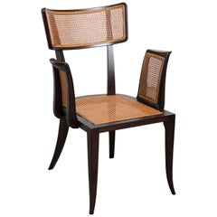 Ed Wormley for Dunbar Cane Armchair
