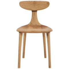 Sculptural Miranda Chair in White Oak by Matthew Sellens of SylvanRay