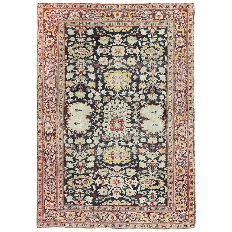 Antique Turkish Sivas Rug For Sale At 1stdibs