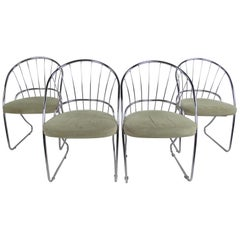 Four Mid-Century Modern Dining Chairs by Daystrom Furniture Co.