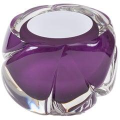 Violet 'Cut' Vase - New York