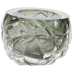 Tourmaline 'Cut' Vase - New York