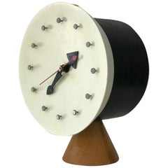 Modernist Desk Table Clock by George Nelson and Irving Harper for Howard Miller