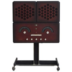 Rr126 Stereo System by Achille and Pier Castiglioni, Manufactured by Brionvega