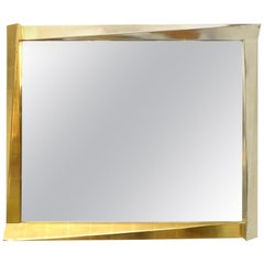 Cubist Giltwood-Framed Mirror