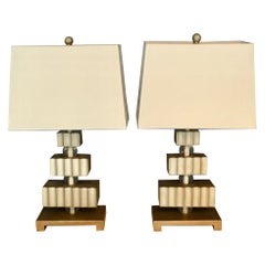 Pair of Hollywood Regency Lamps