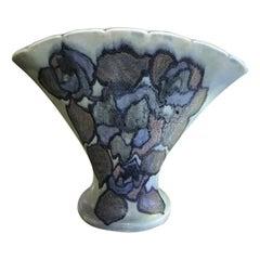 Jens Jensen Signed Rookwood Pottery Fan Vase Vessel