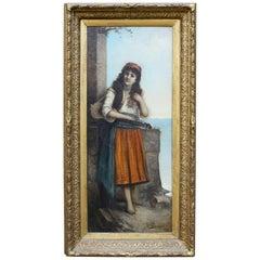Egisto Ferroni, Original Painting