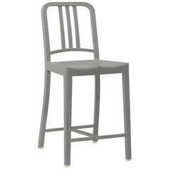 Emeco 111 Navy Counter Stool in Flint by Coca-Cola
