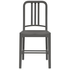 Emeco 111 Navy Chair in Charcoal by Coca-Cola