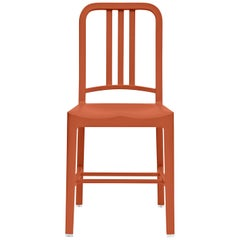 Emeco 111 Navy Chair in Persimmon by Coca-Cola