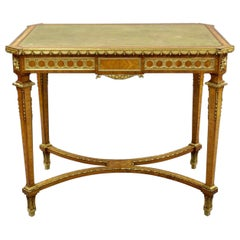 Exceptional Ormulu Writing Table Attributed to Francoise Linke