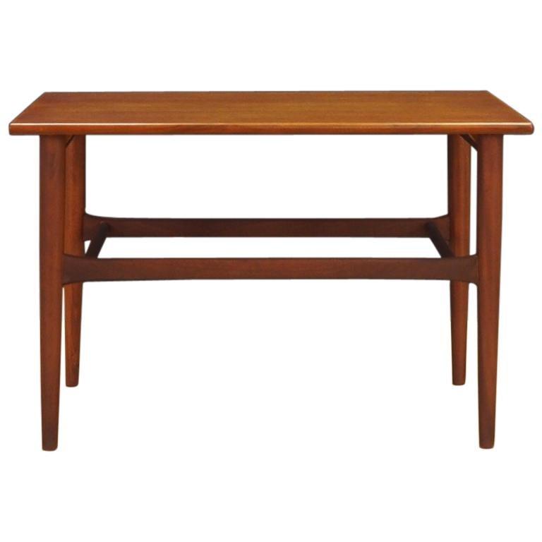 Coffee Table Teak Retro Vintage Danish Design For