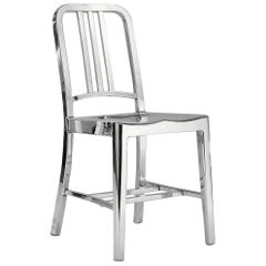 Emeco Navy Chair in Polished Aluminum by US Navy
