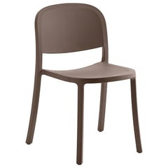 Emeco 1 Inch Reclaimed Chair in Brown by Jasper Morrison