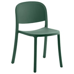 Emeco 1 Inch Reclaimed Chair in Green by Jasper Morrison