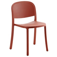 Emeco 1 Inch Reclaimed Chair in Orange by Jasper Morrison