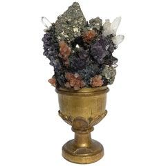 Naturalia Mineral Specimen, Italy, 1870 circa Splendid Wunderkammer Rarity
