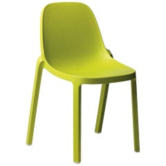 Emeco Broom Stacking Chair in Green by Philippe Starck