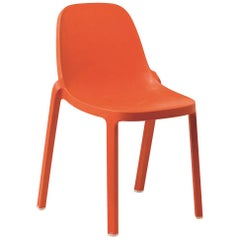 Emeco Broom Stacking Chair in Orange by Philippe Starck