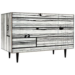 Established & Sons Wrongwoods Credenza or Storage Cabinet Chest of Drawers